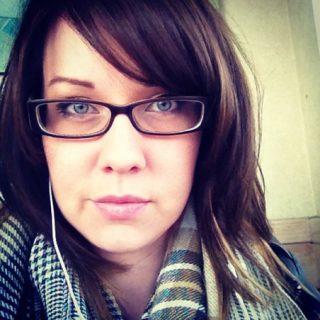 Blog post author, Courtney Raybould.