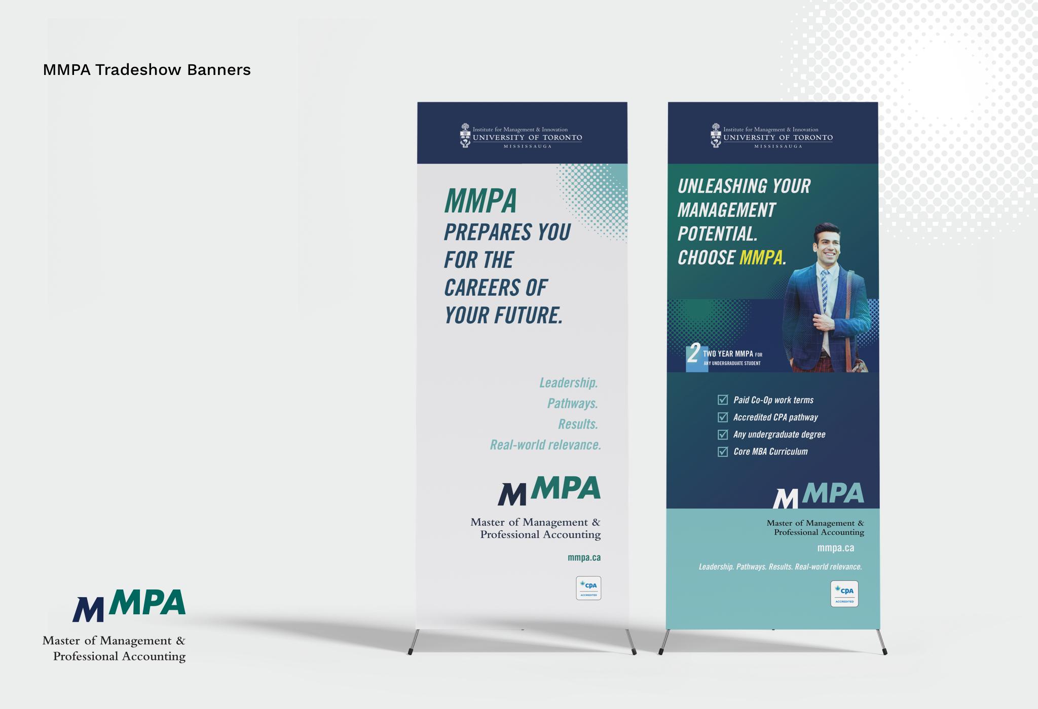 Photo of MMPA Tradeshow banners