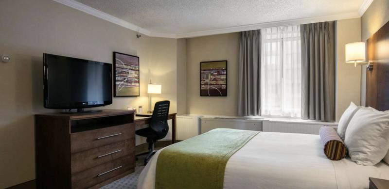 Best Western Ville-Marie - Queen room